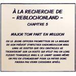 À la recherche de ReblochonLand - Chapitre 5 -